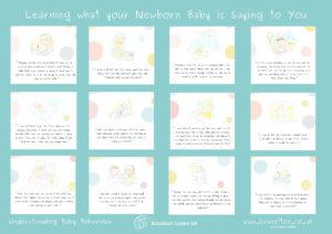 Newborn Baby Communication Poster