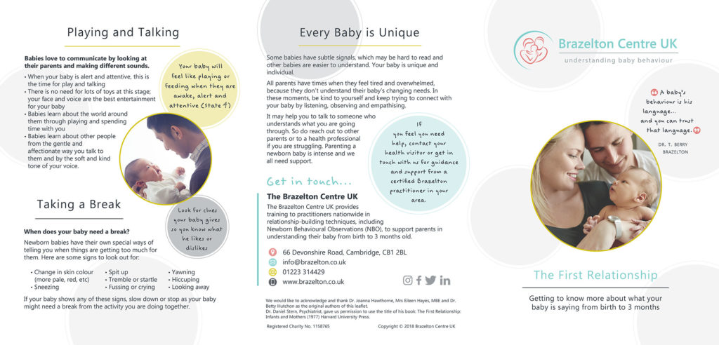 First Relationship Leaflet