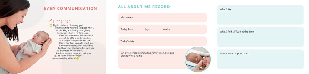 All About Me leaflet